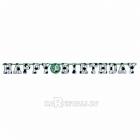 Гирлянда-буквы День Рождения - ФУТБОЛ. В комплекте наклейки - цифры 0-9