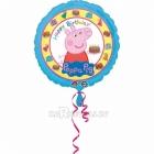Folijas balons ar hēliju Cūciņa pepa | PEPPA PIG, 45cm, piepūšana ar hēliju ietilpst cenā