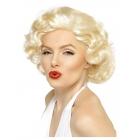 Blondīnes parūka Merilina Monro