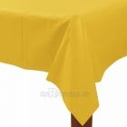 Желтая скатерть 137 х 274 см, клеёнка.