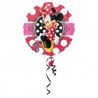 Folijas hēlija balons Pelīte Minnija, 43 cm, piepūšams ar hēliju
