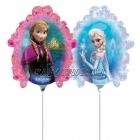 Шар из фольги с воздухом Эльза Ледяное сердце | Frozen - Мини Фигура на палочке