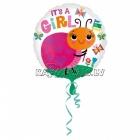 Folijas balons ar hēliju Mārīte, 45cm, piepūšana ar hēliju ietilpst cenā