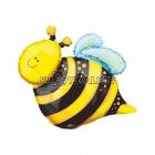Шар из фольги Пчелка - Мини Фигура на палочке