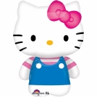 Шар с гелием из фольги Hello Kitty Summer, 56 x 76 см