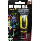 Желтый ультрафиолетовый гель для волос , 10мл, блистерная упаковка