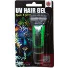 Зеленый ультрафиолетовый гель для волос , 10мл, блистерная упаковка.