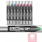 Зеленый ультрафиолетовый карандаш для макияжа, 3,5 г