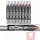 Оранжевый ультрафиолетовый карандаш для макияжа, 3,5 г