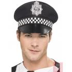 Полицейская фуражка с пластмассовым значком
