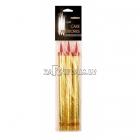 Золотая свечка-фейерверк 10 см 3 шт.