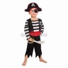 Pirāta, jūras dumpinieka kostīms 3-4 gādu vecumā bērniem