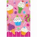 Скатерть с рисунком Магазин сладостей, клеёнка 138 x 259 см