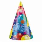 Balonu ballīte konusa cepure 6.gb