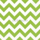 Салфетки бумажные с рисунком ЗИГЗАГ, цвет - зеленый киви, 33х33см 20 шт.
