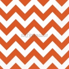 Салфетки бумажные с рисунком ЗИГЗАГ, цвет - оранжевый, 33х33см 20 шт.