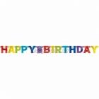День рождения Гирлянда-буквы  220см