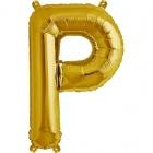 """Шар буква """"P"""", 41cм, фигура из фольги заполняется воздухом"""