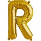 """Шар буква """"R"""", 41cм, фигура из фольги заполняется воздухом"""
