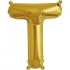 """Burtu balons """"T"""",  41cm, folijas figūra paredzēta piepūšanai ar gaisu"""