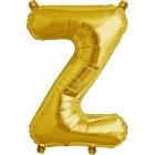 """Шар буква """"Z"""", 41cм, фигура из фольги заполняется воздухом"""