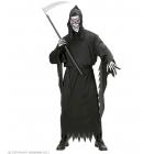 Nāve ar izkapti (nav komplektā) – Helovīna kostīms pieaugušajiem (halāts, josta, kapuces maska), S - izmērs