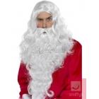Ziemassvētku vecīša parūka ar bārdu