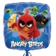 "Angry Birds Movie  folijas balons  izmērs 17""/43cm"