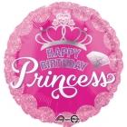 """Princess Crown  folijas balons  izmērs 17""""/43cm"""