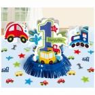 1. dzimšanas diena - galda dekorēšana