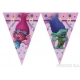Баннер Тролли  треугольные флажки 9 шт