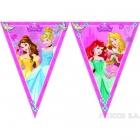 Баннер из девяти треугольных  флажков   Принцесса