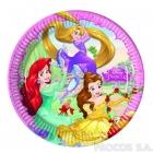 Тарелки бумажные  Принцесса 8 шт  23 см