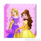 Салфетки двухслойные Принцесса 20 шт  33x33 см