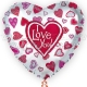Folija balons  I LOVE YOU 80cm