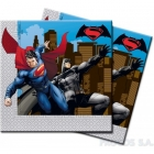 Салфетки двухслойные  Бэтман против Супермена 20 шт  33x33 см