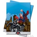 Скатерть из пластика   Бэтман против Супермена 120x180 см