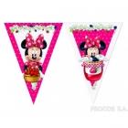 Баннер из девяти треугольных  флажков  Мышка Минни