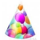 Карнавальные шапочки  Летающие воздушные шары 6 шт