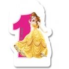 Свечка для торта 1-й день  рождения  Принцесса