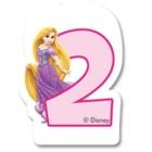 Свечка для торта 2-й день  рождения  Принцесса