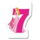 Свечка для торта 7-й день рождения Принцесса