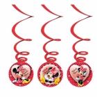 """Piekaramais dekors Pelīte Minnia (""""Minnija Mouse"""") 6 gab"""