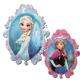 """Холодное сердце (""""Frozen"""") суперфигура из фольги"""
