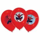 Spiderman  lateksa baloni ar krāsu apdruku 6.gab. 27.5 cm