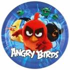 "Тарелки Злые птички (""Angry birds"") , 23см, упаковка 8шт."