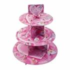 Принцесса Подставка для торта трехуровневая  30 х 30  см
