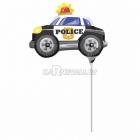 Мини фигура из фольги Полицейская машина