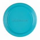 Карибское море Набор прочных бумажных тарелок без рисунка. 22.8 см  8 шт