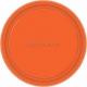 Апельсин набор бумажных тарелок 22,8 см 8 шт. в упаковке